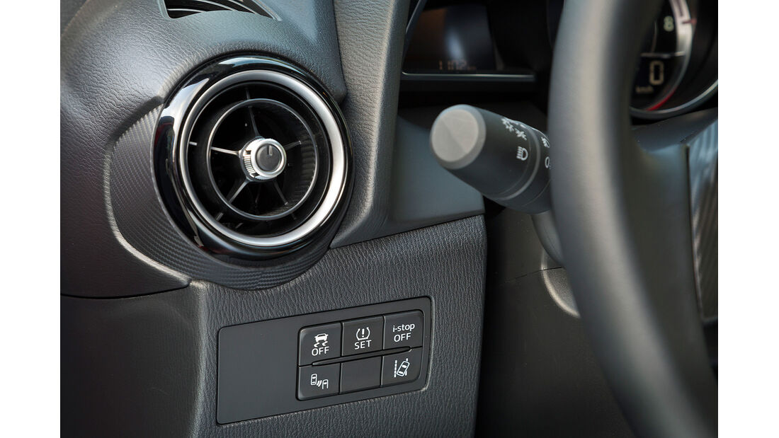 Mazda 2, Assistenzsysteme