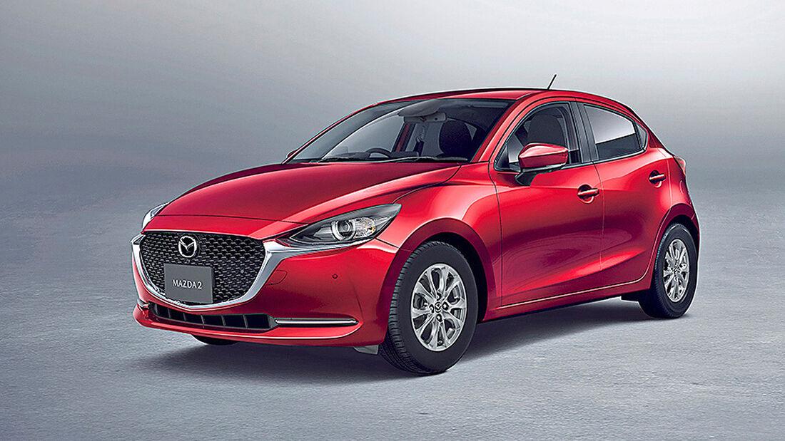 Mazda 2, Autonis 2020