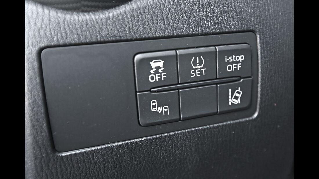 Mazda 2 G 115, Bedienelemente