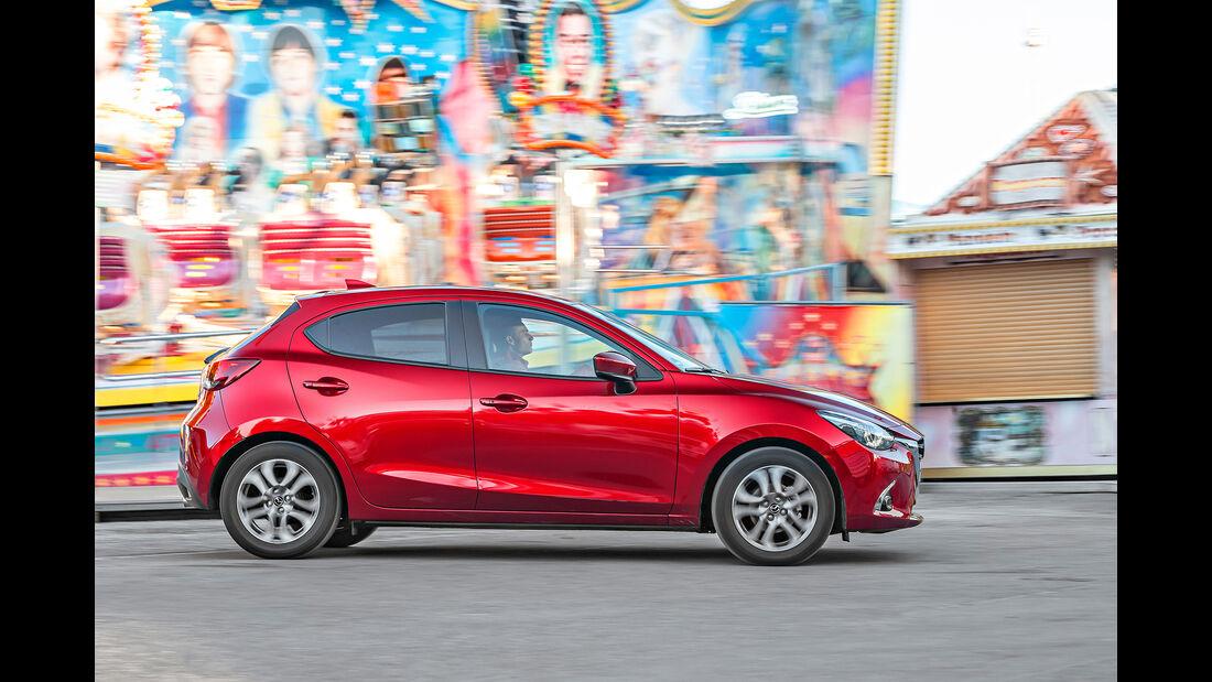 Mazda 2 G 115, Exterieur