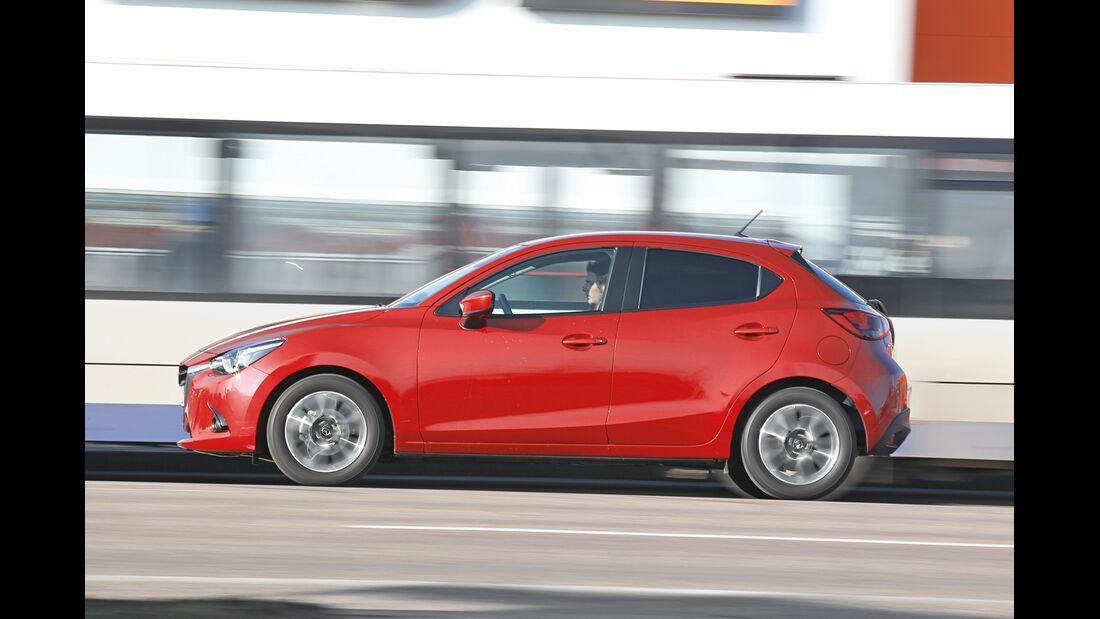 Mazda 2 G 115, Seitenansicht