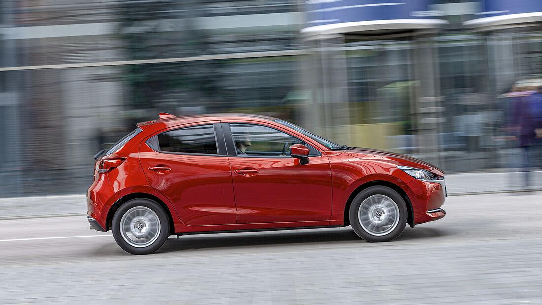 Mazda 2 G 90 M Hybrid, Exterieur