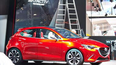 Mazda 2 Hazumi, Genfer Autosalon, Messe 2014