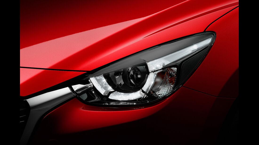Mazda 2, LED-Scheinwerfer
