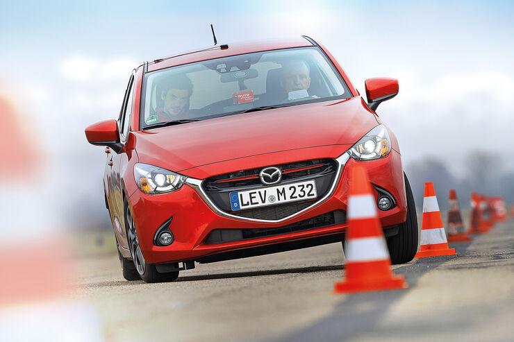 Mazda 2 Skyactiv-G 115 i-Eloop, Frontansicht