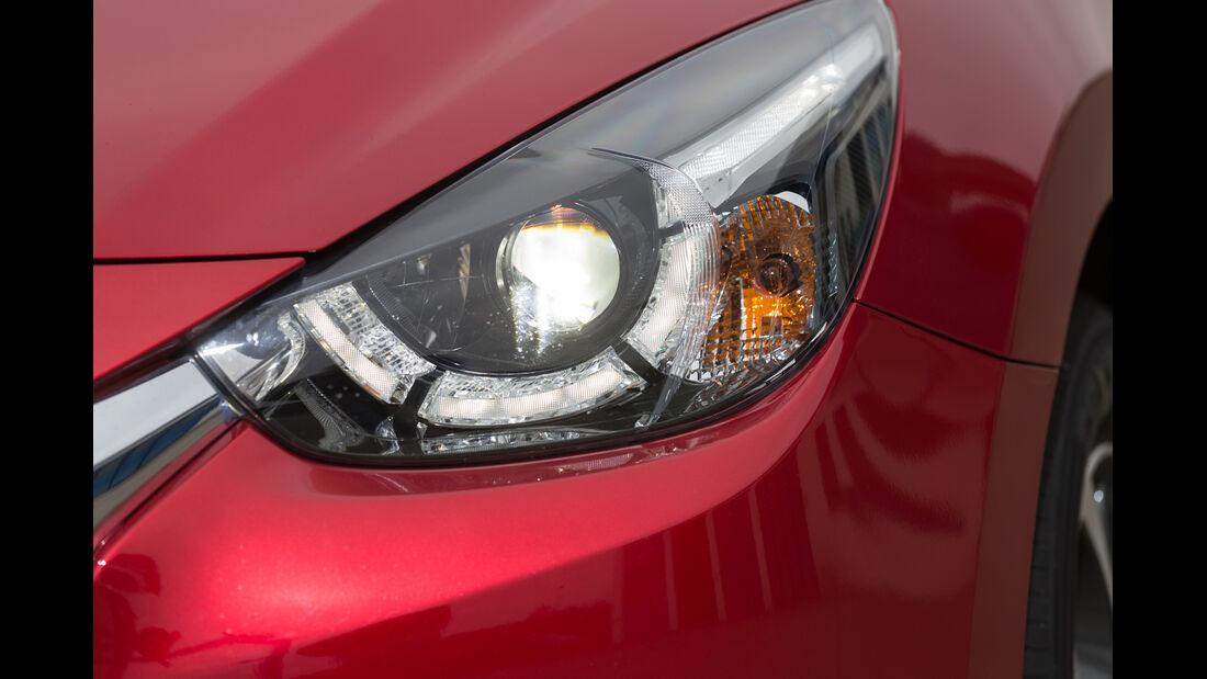 Mazda 2 Skyactiv-G 115 i-Eloop, Frontscheinwerfer