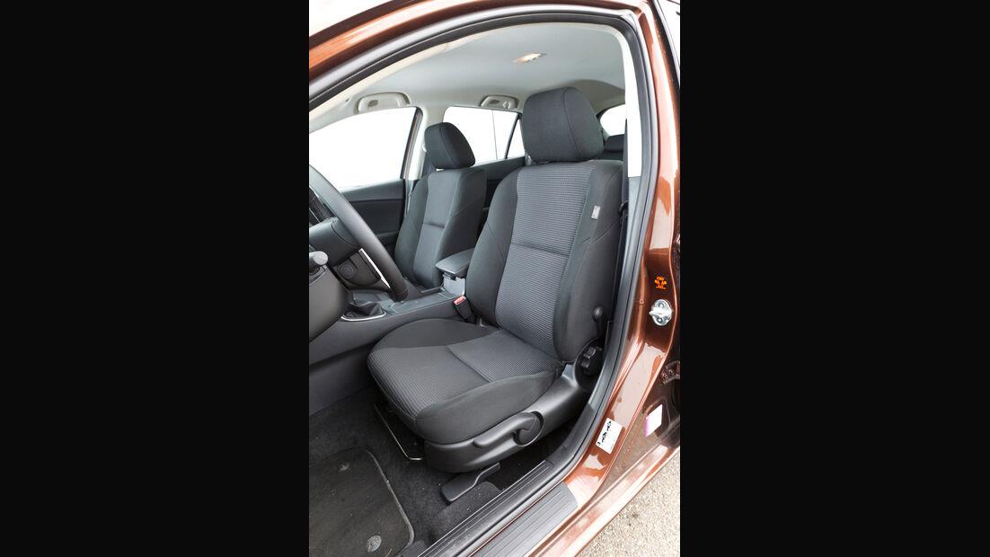 Mazda 3 2.2 MRZ-CD, Fahrersitz
