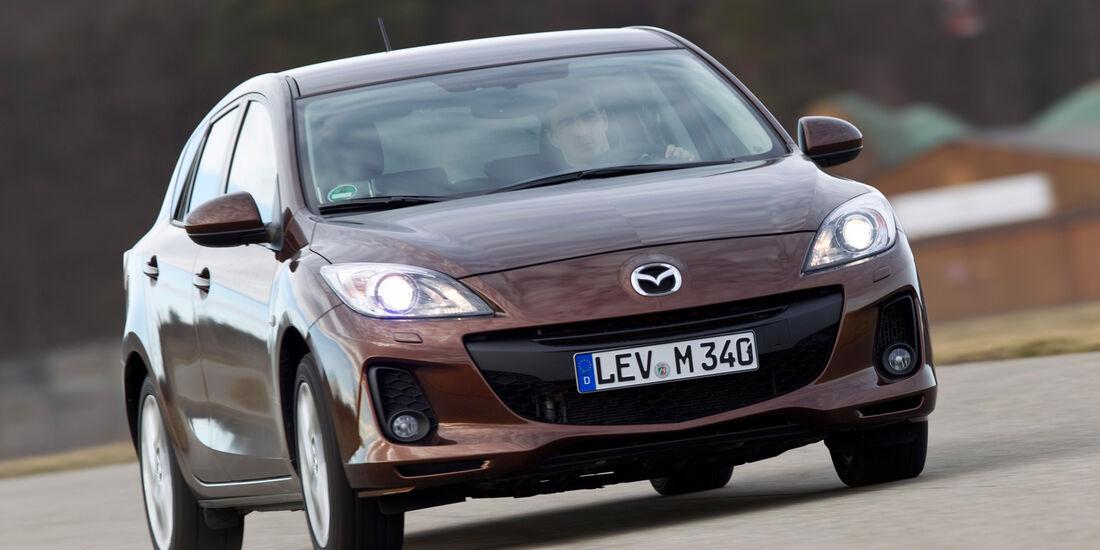 Mazda 3 2.2 MRZ-CD, Frontansicht