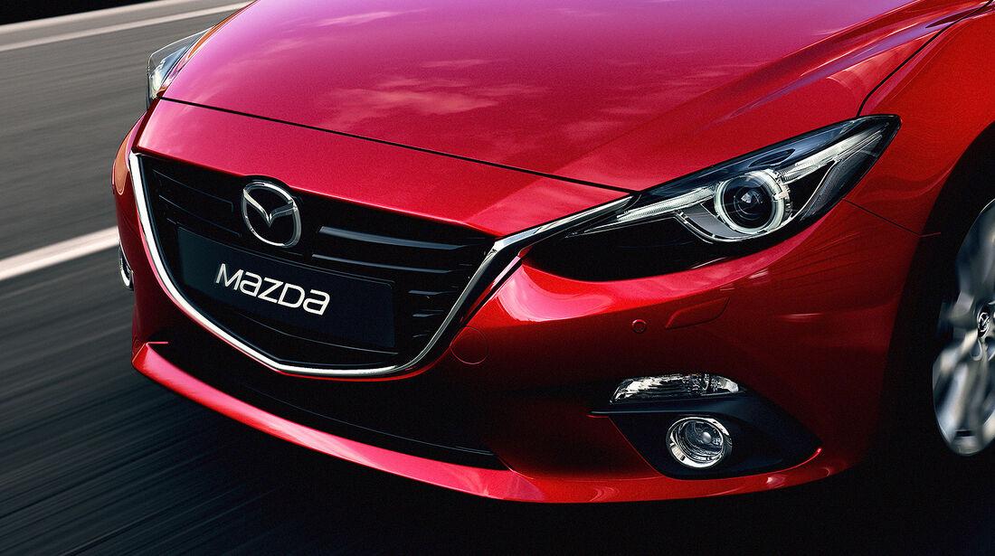 Mazda 3, 2013 Weltpremiere, Front