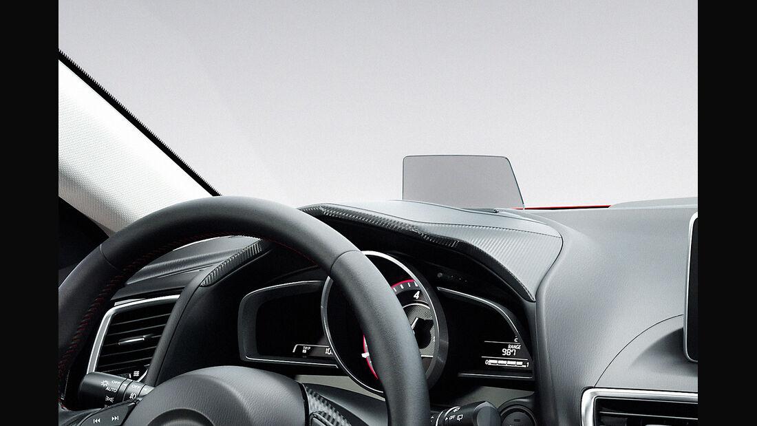 Mazda 3, 2013 Weltpremiere, Innenraum