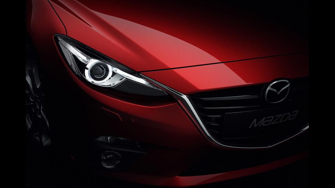 Mazda 3, 2013 Weltpremiere, Scheinwerfer