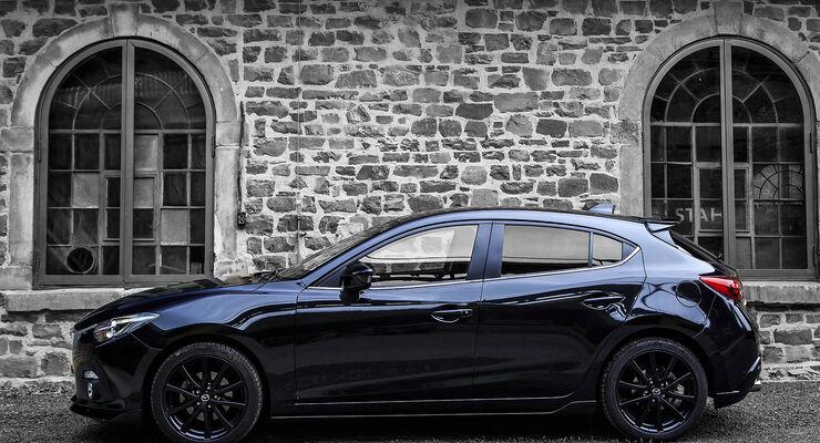 "Mazda 3 ""Black Limited"" Sondermodell"