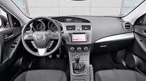 Mazda 3, Cockpit