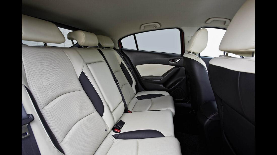 Mazda 3 Diesel Fond ohne Passagier