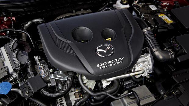 Mazda 3 Diesel Skyactiv D-105 Motor
