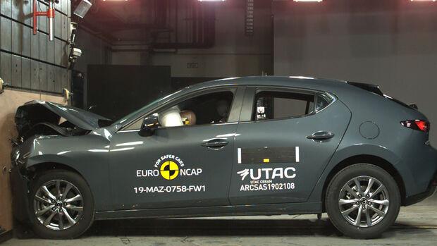 Mazda 3 EuroNCAP-Crashtest