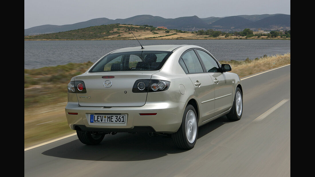 Mazda 3, Facelift 2006, Stufenheck