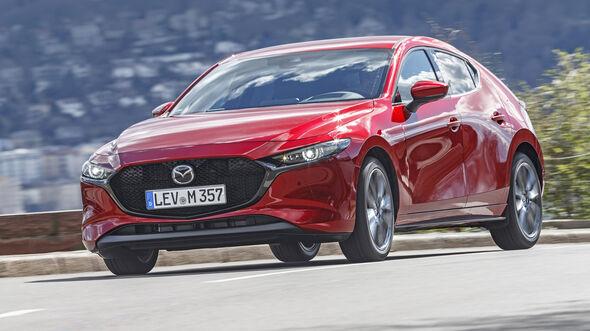 Mazda 3, Fahrbericht, Exterieur