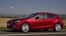 Mazda 3 Fahrt Seite