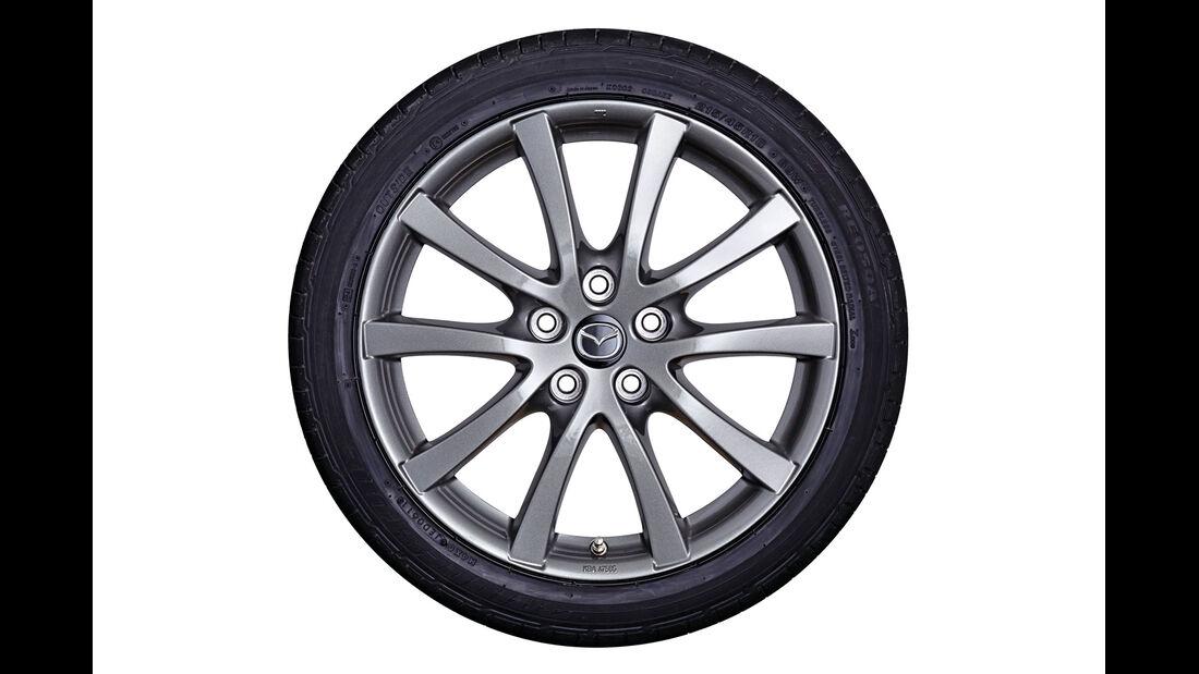 Mazda 3, Felgen