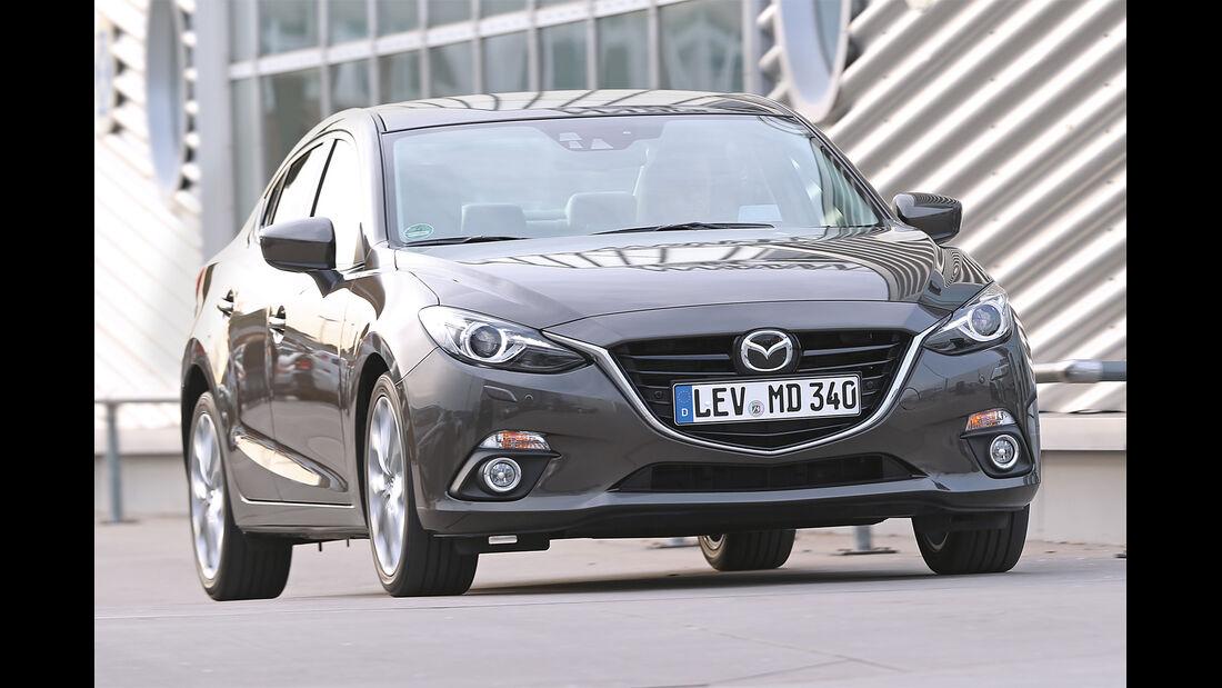 Mazda 3, Frontansicht