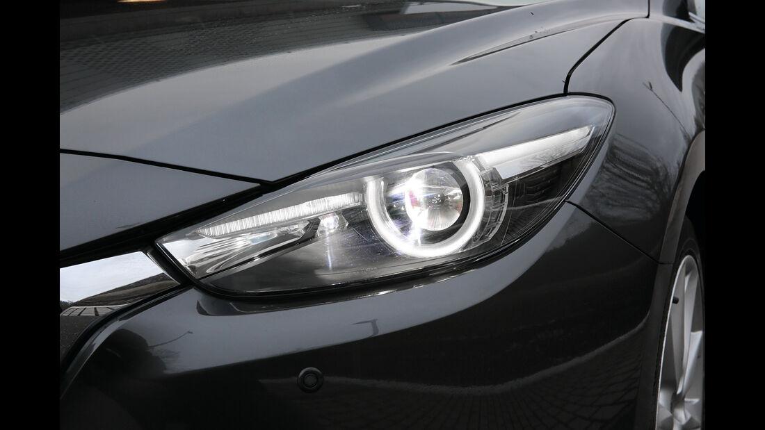 Mazda 3, Frontscheinwerfer