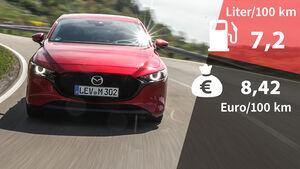 Mazda 3 G 150 2.0 Kosten Realverbrauch