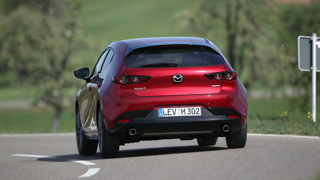 Mazda 3 G 150, Exterieur