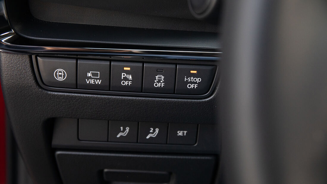 Mazda 3 G 150, Interieur
