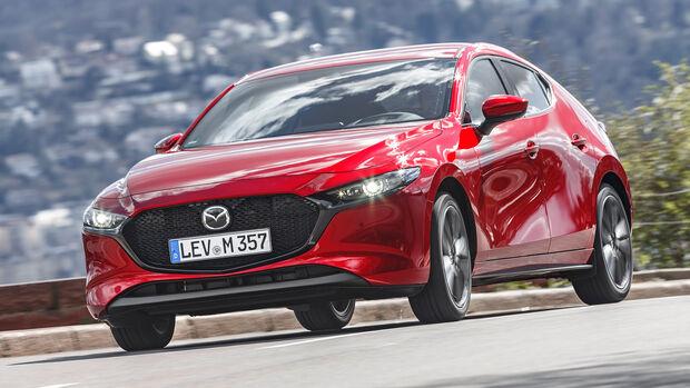 Mazda 3 G 2.0, Exterieur