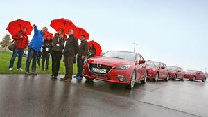Mazda 3, Instruktoren, Teilnehmer