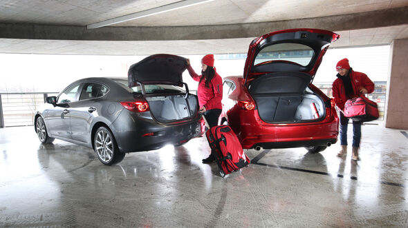 Mazda 3, Kofferraumdeckel