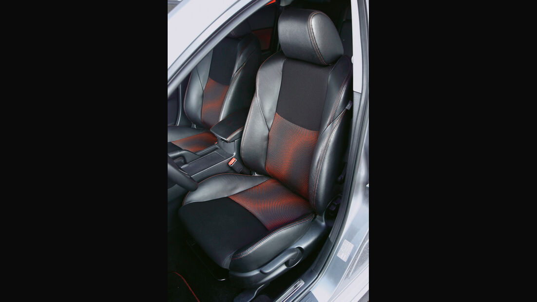 Mazda 3 MPS, Detail, Innenraum, Fahrersitz