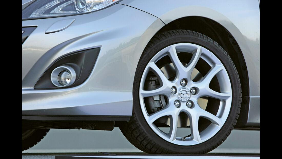 Mazda 3 MPS, Detail, Kühlerhaube