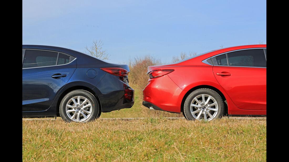 Mazda 3, Mazda 6, Heck