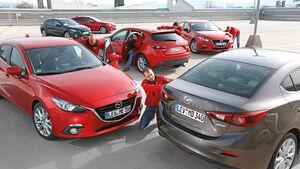Mazda 3, Modellvarianten