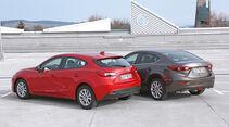 Mazda 3, Modellvarianten, Heckansicht