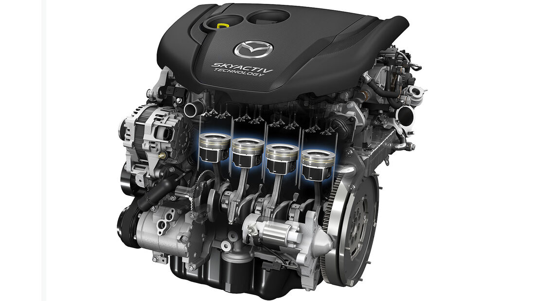 Mazda 3 Motor D 2.2 Liter