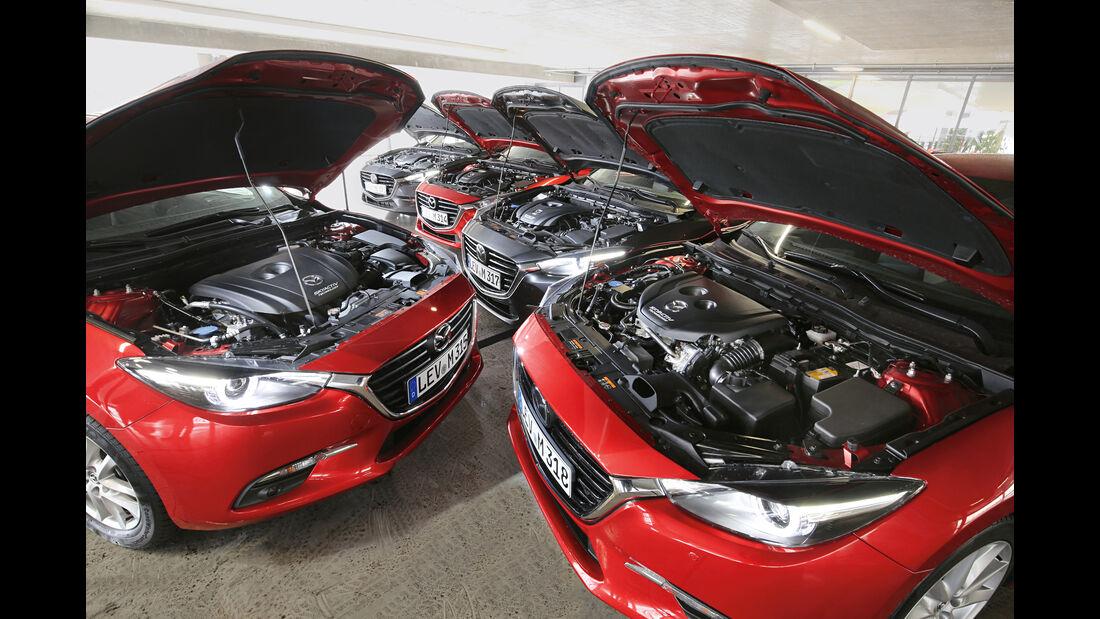 Mazda 3, Motorenvarianten