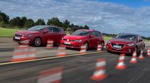 Mazda 3, Peugeot 308, VW Golf