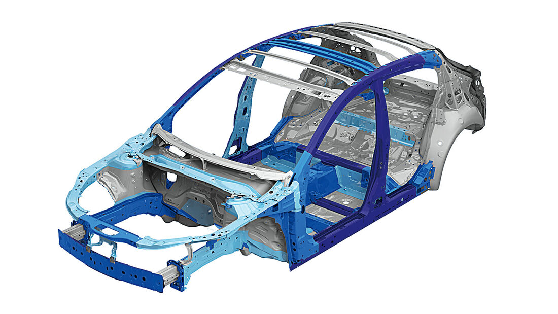 Mazda 3, Rahmen