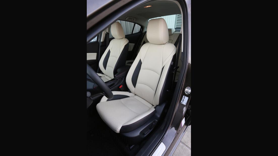 Mazda 3 SKYACTIV-G120, Fahrersitz