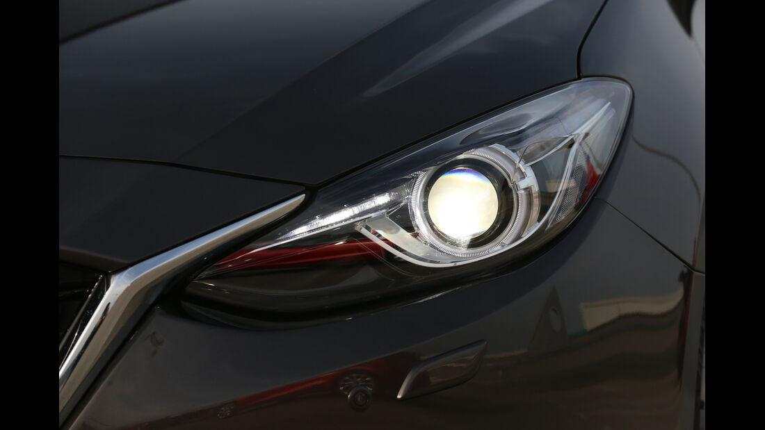 Mazda 3 SKYACTIV-G120, Frontscheinwerfer