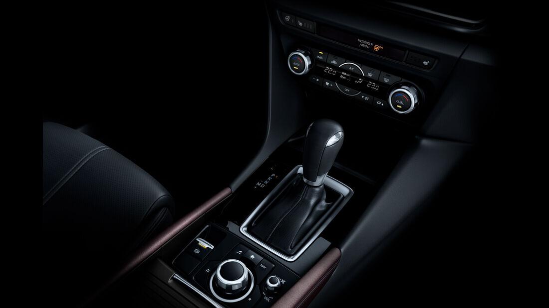 Mazda 3, Schalthebel