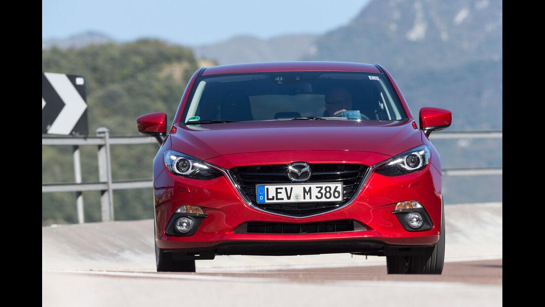Mazda 3 Skyactiv G 120, Frontansicht