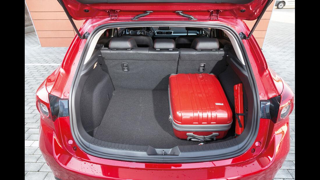 Mazda 3 Skyactiv G 120, Kofferraum