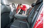 Mazda 3 Skyactiv G 120, Rücksitz, Umklappen