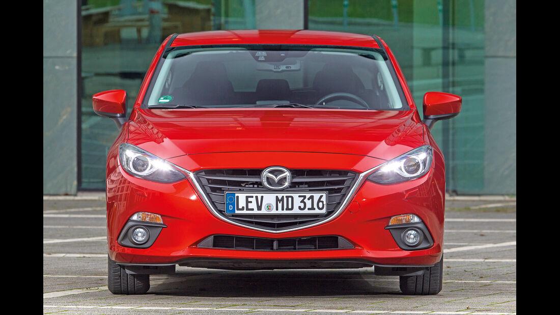 Mazda 3 Skyactiv-G 165, Frontansicht