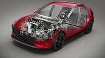 Mazda 3 Skyactiv-X, Motor
