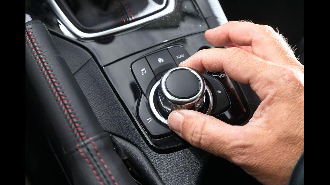 Mazda 3 Skyactive G 120, Drück-Drehsteller